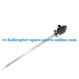 JXD 335 I335 helicopter spare parts tail big pipe + tail motor + tail motor deck (set)