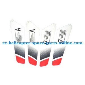 JXD 335 I335 helicopter spare parts main blades (2x upper + 2x lower)