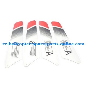 JXD 339 I339 helicopter spare parts main blades (2x upper + 2x lower)