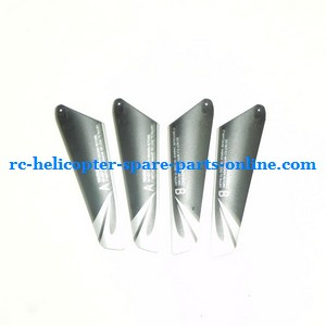 JXD 340 helicopter spare parts main blades (2x upper + 2x lower)