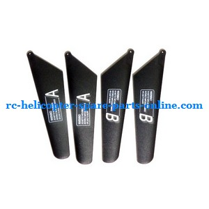 JXD 343 343D helicopter spare parts main blades (JXD 343D Black)