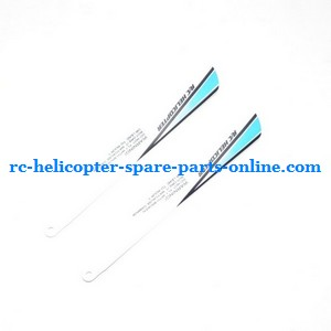 JXD 349 helicopter spare parts main blades (Blue)