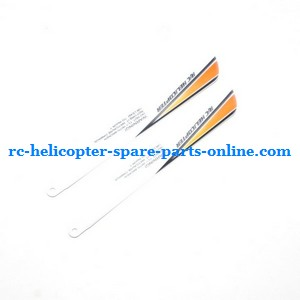 JXD 349 helicopter spare parts main blades (Yellow)
