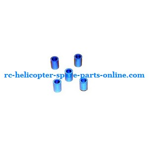 JXD 349 helicopter spare parts small plastic ring set in the frame (Blue)