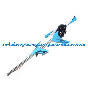 JXD 349 helicopter spare parts tail set (Blue)