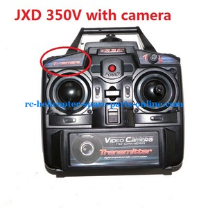 JXD 350V helicopter spare parts transmitter frequency: 27Mhz 350V