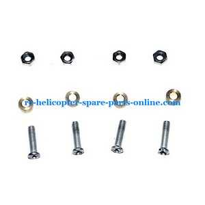 JXD 350 350V helicopter spare parts fixed set of the main blades