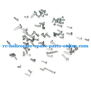 JXD 352 352W helicopter spare parts screws set