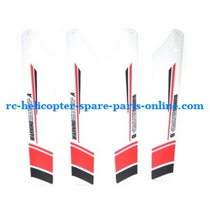 JXD 352 352W helicopter spare parts main blades (White)