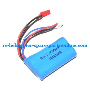 JXD 352 352W helicopter spare parts battery 7.4V 650mAh JST plug