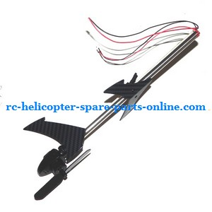 JXD 352 352W helicopter spare parts tail set (Silver pipe)