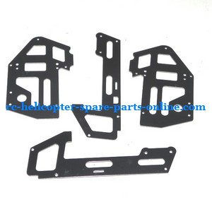 JXD 352 352W helicopter spare parts metal frame set (Black)