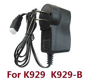 Wltoys K929 K929-A K929-B RC Car spare parts charger directly connect to the battery