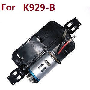 Wltoys K929 K929-A K929-B RC Car spare parts bottom board with main motor set (For K929-B)