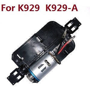 Wltoys K929 K929-A K929-B RC Car spare parts bottom board with main motor set (For K929 K929-A)