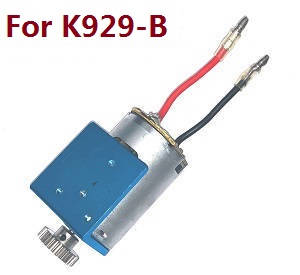 Wltoys K929 K929-A K929-B RC Car spare parts 540 main motor with motor gear and fixed board (For K929-B)