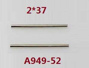 Wltoys K929 K929-A K929-B RC Car spare parts swing arm pin 2*37 A949-52