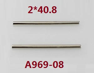 Wltoys K929 K929-A K929-B RC Car spare parts swing arm pin 2*40.8 K929-08