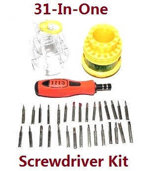 Wltoys K929 K929-A K929-B RC Car spare parts 1*31-in-one Screwdriver kit package