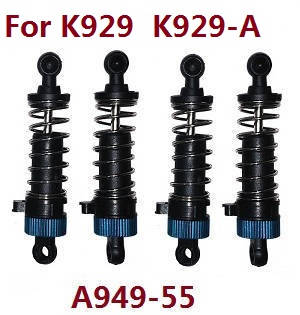 Wltoys K929 K929-A K929-B RC Car spare parts shock absorber (For K929 K929-A) A949-55