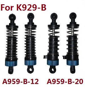 Wltoys K929 K929-A K929-B RC Car spare parts shock absorber (For K929-B) A959-B-12 A959-B-20