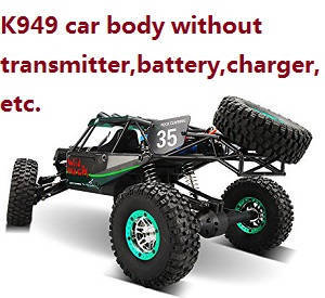 Wltoys K949 RC Car body without transmitter,battery,charger,etc.