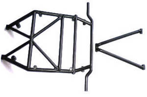 Wltoys K949 RC Car spare parts rollcage in A B K949-104