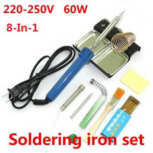 Wltoys L333 L343 L353 RC Car spare parts 8-In-1 Voltage 220-250V 60W soldering iron set
