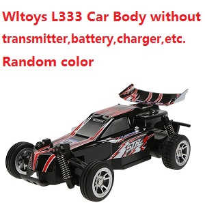Wltoys L333 RC Car body without transmitter,battery,charger,etc.(Random color)