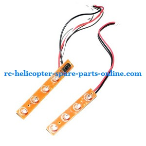 LH-109 LH-109A helicopter spare parts Side LED bar set
