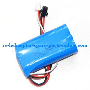 LH-1201 LH-1201D RC helicopter spare parts battery 7.4V 1500MaH SM plug