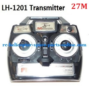 LH-1201 RC helicopter spare parts transmitter (LH-1201 Frequency: 27M)