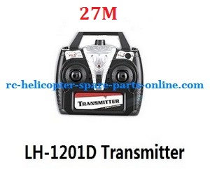 LH-1201D RC helicopter spare parts transmitter (LH-1201D Frequency:40M)