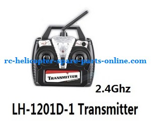 LH-1201D-1 RC helicopter spare parts transmitter (LH-1201D-1 2.4G)