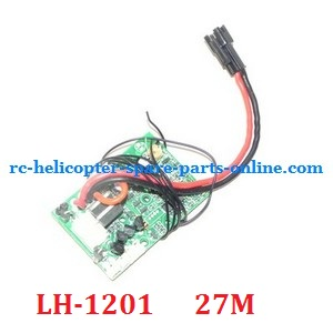 LH-1201 RC helicopter spare parts PCB BOARD (LH-1201 Frequency: 27M)