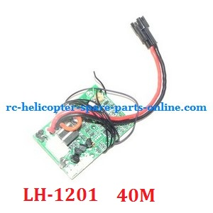 LH-1201 RC helicopter spare parts PCB BOARD (LH-1201 Frequency: 40M)