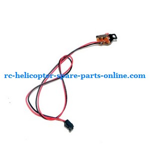 LH-1201 LH-1201D RC helicopter spare parts on/off switch wire