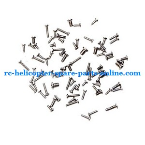 LH-1201 LH-1201D RC helicopter spare parts screws set