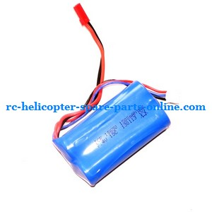 Egofly LT-711 RC helicopter spare parts battery 7.4V 1500MAH red JST plug