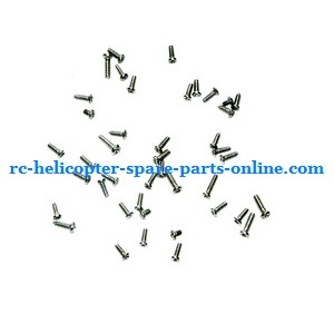 Egofly LT-712 RC helicopter spare parts screws set