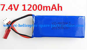 Wltoys WL Q202 quadcopter spare parts battery 7.4V 1200mAh