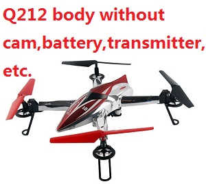 Wltoys Q212 body without cam,battery,transmitter,charger.etc.