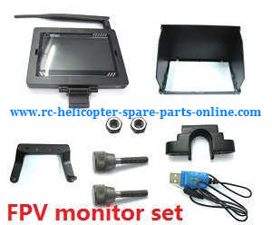 Wltoys WL Q333 Q333A Q333B Q333C quadcopter spare parts FPV monitor set