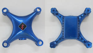 Wltoys WL Q343 Q343-A Q343-B RC Quadcopter spare parts upper and lower cover (Blue)