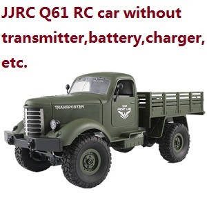 JJRC Q61 RC Military Trcuk Car without transmitter,battery,charger,etc.