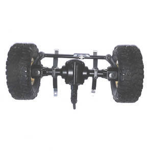 JJRC Q61 RC Military Truck Car spare parts front axle module assembly