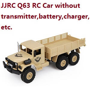 JJRC Q63 RC Military Trcuk Car without transmitter,battery,charger,etc.