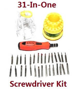JJRC Q63 RC Military Truck Car spare parts 1*31-in-one Screwdriver kit package