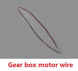 Wltoys WL Q919 Q919A Q919B Q919C RC quadcopter spare parts gear box motor wire plug