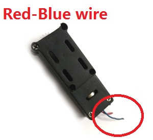 Wltoys WL Q919 Q919A Q919B Q919C RC quadcopter spare parts gear box set (Red-Blue wire)